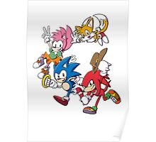 Classic Sonic Team Poster