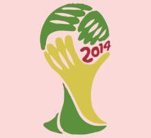 FIFA World Cup Logo Brazil 2014 Kids Clothes