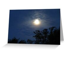 Moon Scape Greeting Card