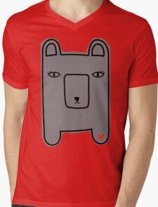 Ashes bearie. Mens V-Neck T-Shirt