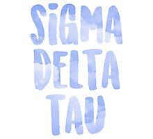 Sigma Delta Tau Photographic Print