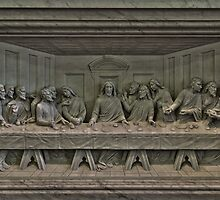 Last Supper relief, Immaculate Conception by PhillyChurches