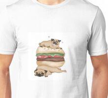 The Burger Pugs  Unisex T-Shirt
