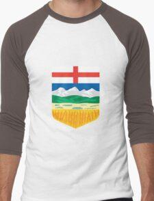 Alberta Crest Men's Baseball ¾ T-Shirt