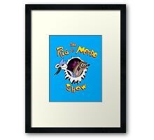 The Regular & Stimpy Show Framed Print