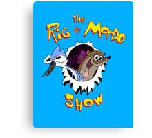 The Regular & Stimpy Show Canvas Print
