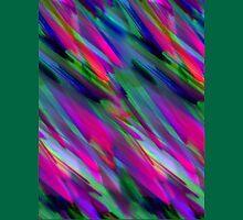 Colorful digital art splashing Unisex T-Shirt
