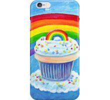 Rainbow Cupcake iPhone Case/Skin
