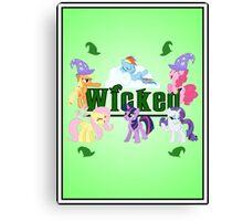 Wicked Ponies Canvas Print