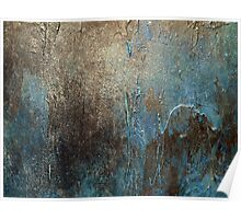 Abstract Coastal Painting-OXIDIZED-artist-holly-anderson Poster