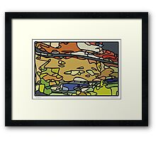 act natural Framed Print