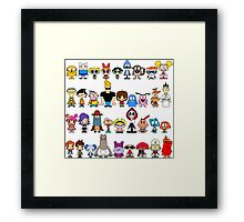 Cartoon Network Framed Print
