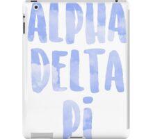 Alpha Delta Pi iPad Case/Skin