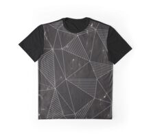 Marble Triangles Graphic T-Shirt