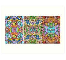Psychedelic  Pattern Art Print