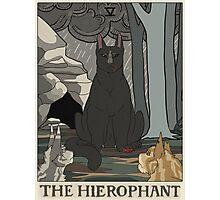 Warriors Tarot Series- The Hierophant Photographic Print