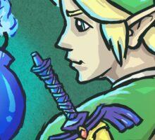 Link's Blue Bomb (Legend of Zelda) Sticker