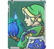 Link's Blue Bomb (Legend of Zelda) iPad Case/Skin