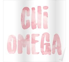 Chi Omega Poster
