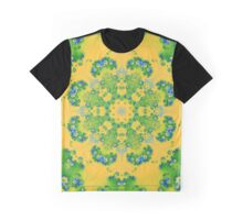 The Brightness of Yellow and Green Kalder Carpet Graphic T-Shirt