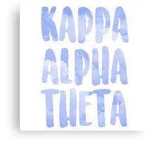 Kappa Alpha Theta Canvas Print