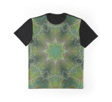 The Tranquility of Green Kalder Carpet Graphic T-Shirt
