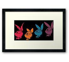 TMNT: Playboy Turtles Framed Print