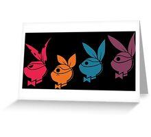 TMNT: Playboy Turtles Greeting Card