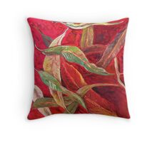 The Way The Leaves Fall Throw Pillow