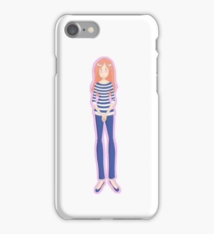 Mrs. Pond (Pink) iPhone Case/Skin