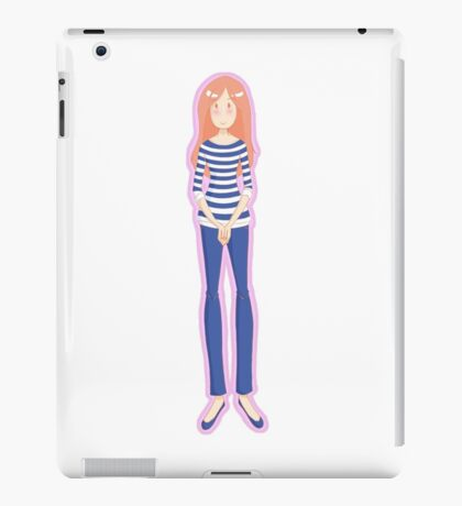 Mrs. Pond (Pink) iPad Case/Skin
