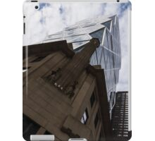 Looking Up - the Famous Hearst Tower in Midtown Manhattan, New York City, USA iPad Case/Skin