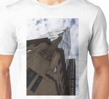 Looking Up - the Famous Hearst Tower in Midtown Manhattan, New York City, USA Unisex T-Shirt