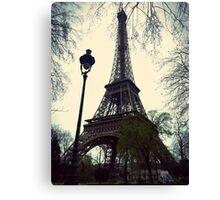 Meet Me Under the Eiffel Canvas Print