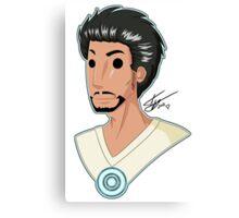 Tony Stark Love! Canvas Print