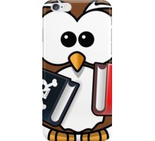 OWL WITH BOOKS iPhone Case/Skin