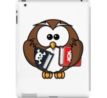 OWL WITH BOOKS iPad Case/Skin