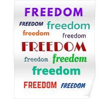 Freedom (light) Poster