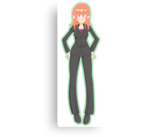Donna Noble (Green) Canvas Print
