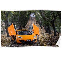McLaren MP4-12C Spider Poster