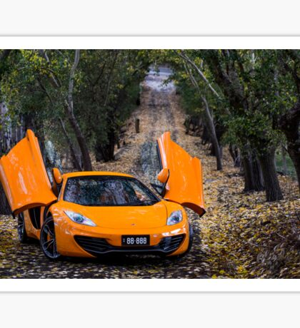 McLaren MP4-12C Spider Sticker
