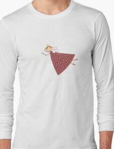 Magical Snowflakes Fairy Long Sleeve T-Shirt