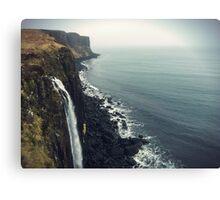 Kilt Rock in the Highlands of Scotland Canvas Print