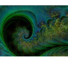 Music Notes Like Coloured Dust Motes Photographic Print