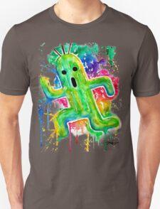 Cute Cactuar - Running Watercolor - Final fantasy - Jonny2may - Awesome!  Unisex T-Shirt