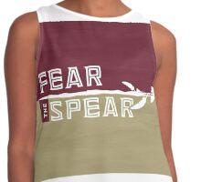 Fear the Spear - Custom 'Nole Artwork Contrast Tank