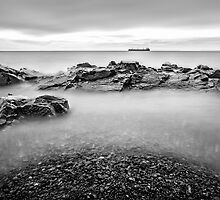 The Ship on Lake Superior by SandraNightski