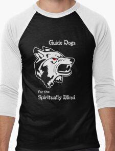 Guide Dogs for the Spiritually Blind Men's Baseball ¾ T-Shirt