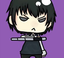Hibari by scribblely-face