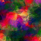 Retro Color Abstract by David Dehner